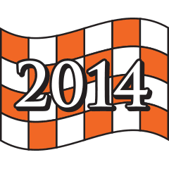 CV5K 2014 Checkered Flag